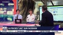 """La fin des """"Like"""" sur Facebook - 03/09"""