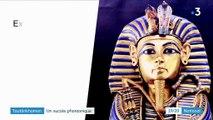 Culture : succès pharaonique pour l'exposition consacrée à Toutânkhamon