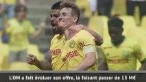 Transferts - Accord Nantes-OM pour Rongier !