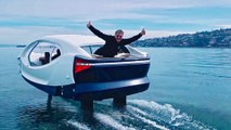 "Water Taxi - ""Sea Bubbles"" Hydrofoil Transport Service"