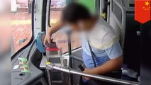 Man drops phone in bus coin box trying to make mobile payment
