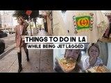 LA Vlog: BEST Vintage Shopping, Airbnb, Blue Bottle Cafe, Vegan Food, KCON LA | Q2HAN