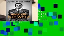 [BEST SELLING]  Way of the Wolf: Straight Line Selling: Master the Art of Persuasion, Influence,