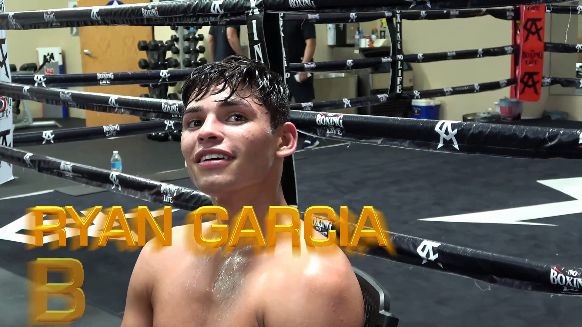 Ryan Garcia pays for tix for a fan who does not have money