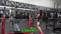 Top Female Weigh Lifter In World Pushing Kilos