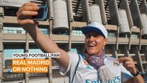 Young Football Fan: Real Madrid couldn't ask for a better fan