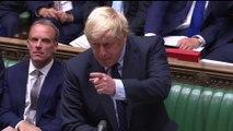 """Brexit: Boris Johnson menace de convoquer des élections anticipées """"si les députés votent pour créer de nouveaux délais inutiles"""""""