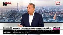 """Violences faites aux femmes: Le témoignage bouleversant dans """"Morandini"""" Live sur CNews de Sylvie, femme battue et violée par son compagnon"""