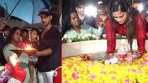 Salman Khan's sister Arpita Khan Sharma's Ganpati Visarjan video goes viral | FilmiBeat