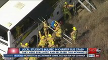 All students back home after school bus crash