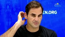 "US Open 2019 - Roger Federer, injured back and neck : ""There was no reason to give up"""