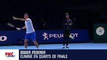 US Open : battu par Dimitrov, Federer ne rejette pas la faute sur sa blessure