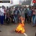 Protests erupt in Karnataka after arrest of Congress leader DK Shivakumar
