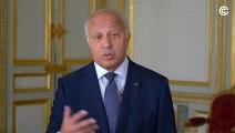 """Présentation du concours """"Découvrons notre Constitution"""" par Laurent Fabius"""