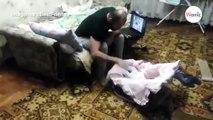 Ce chat vole au secours d'un bébé maltraité !