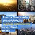 Et la ville la plus agréable du monde est...
