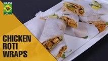 Tasty Chicken Roti Wraps | Food Diaries | Masala TV Show | Zarnak Sidhwa