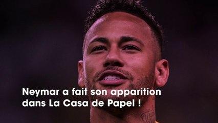 La Casa de Papel  Neymar n'apparaît que maintenant dans la série à cause de la polémique d'accusation de viol