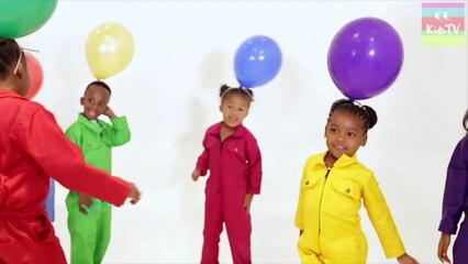 Balloon On My Head - Original Song by CC KIDS TV - Fun Song For Kids
