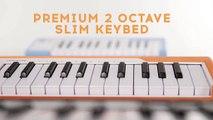 Présentation du clavier MIDI USB MicroLab d'Arturia