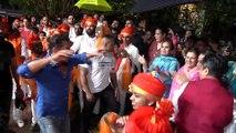 Salman Khan Dance with Alvira's daughter at Ganpati Visarjan