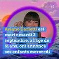 Ariane, du Club Dorothée est morte