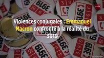 Violences conjugales : Emmanuel Macron confronté à la réalité du 3919