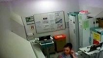 Hemşire, çocuk hastalara verilen ilaçları çalarken yakalandı