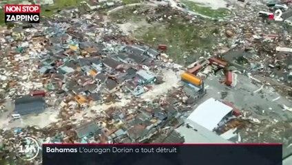Les Bahamas dévastés par l'ouragan Dorian (Vidéo)