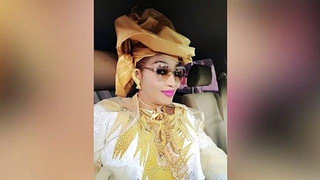 Couverte d'or, la femme du ministre conseiller Askia Touré, fait encore parler d