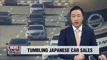 Japanese car sales in Korea tumble 56.9% in August y/y