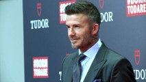 David Beckham honoured for his contribution to sports