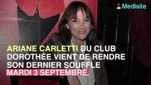 Ariane du Club Dorothée est morte à 61 ans