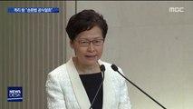"""홍콩 시민들 '일단 승리'…""""송환법 포기한다"""""""