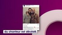 Matt Pokora en deuil suite au décès de son ami Mehdi Boureghda