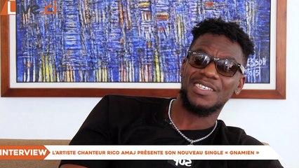 Showbiz : L'artiste chanteur Rico Amaj présente son nouveau single «Gnamien»