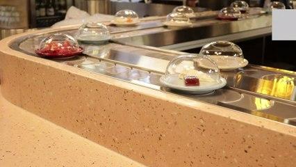 The world's first cheese conveyor belt restaurant