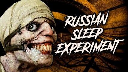 RUSSIAN SLEEP EXPERIMENT - przerażająca CREEPYPASTA
