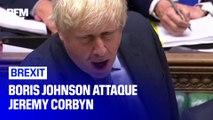 Lors de débats houleux au Parlement britannique, Boris Johnson s'en est pris à Jeremy Corbyn
