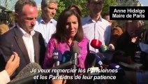 Hidalgo à vélo pour défendre les pistes cyclables dans Paris