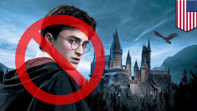 Harry Potter books removed from school library over magic risk