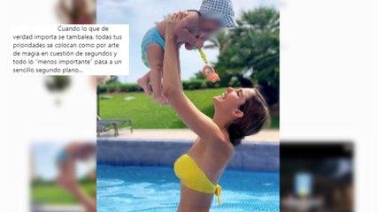 """Natalia Sánchez vive un verano diferente por un """"traspiés familiar"""""""