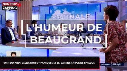 Ford Boyard : Cécile Duflot paniquée et en larmes en pleine épreuve (Vidéo)