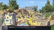 Bagnolet : une décharge à ciel ouvert au pied des habitations