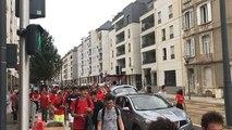 Toges et musique dans les rues pour l'intégration des étudiants de l'Eseo