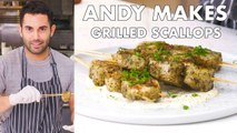 Andy Makes Grilled Scallops