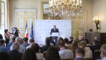 Conférence de presse  Gérard Larcher