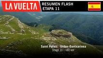 Resumen Flash - Etapa 11 | La Vuelta 19
