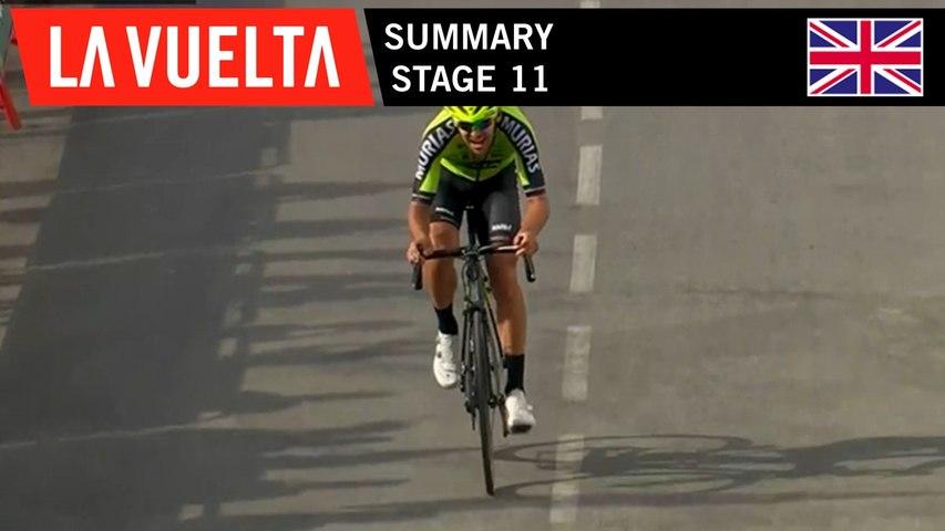 Summary - Stage 11 | La Vuelta 19