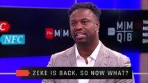 Ezekiel Elliott Is Back With The Cowboys